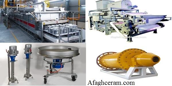 طراحی و ساخت تجهیزات و ماشین آلات صنایع سرامیک